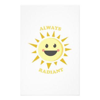 Always Radiant Custom Stationery
