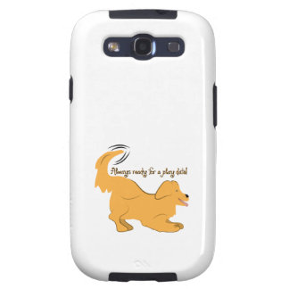 Always Ready For A Play Date! Galaxy S3 Cover