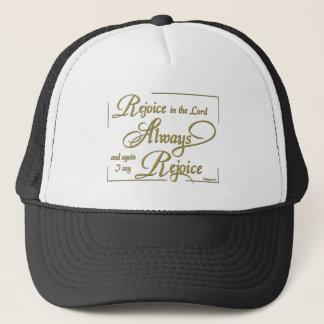 Always Rejoice Trucker Hat