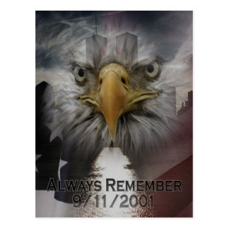 Always Remember 911 Postcard