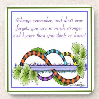Always Remember Beverage Coaster