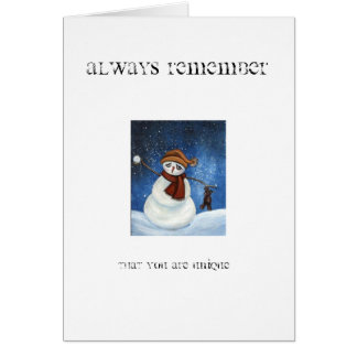 Always Remember... Card