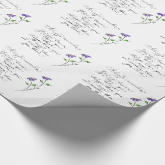 Always Remember inspirational quote Wrapping Paper
