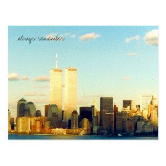 always remember postcard