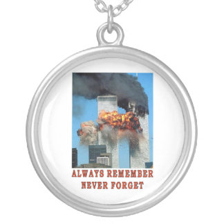 ALWAYS REMEMBER ROUND PENDANT NECKLACE