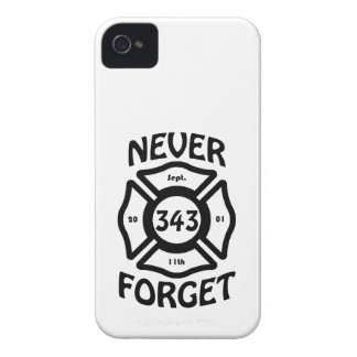 Always remember the 11th of September, and the 343 iPhone 4 Case-Mate Case
