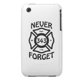 Always remember the 11th of September, and the 343 iPhone 3 Cases