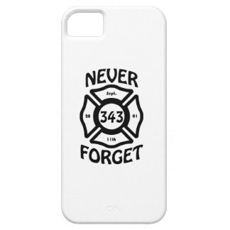 Always remember the 11th of September, and the 343 iPhone 5 Case