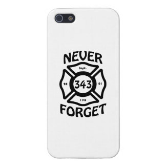 Always remember the 11th of September, and the 343 Case For iPhone 5