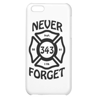 Always remember the 11th of September, and the 343 iPhone 5C Covers
