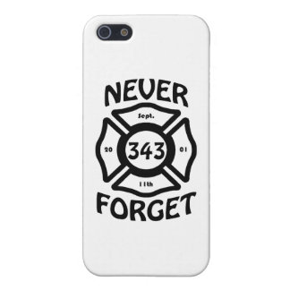 Always remember the 11th of September, and the 343 iPhone 5 Covers