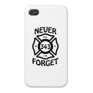 Always remember the 11th of September, and the 343 iPhone 4/4S Covers