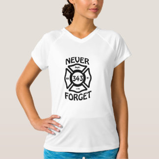 Always remember the 11th of September and the 343 T-Shirt