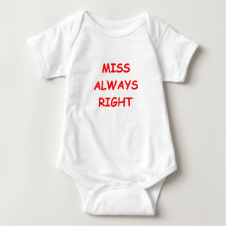 always right baby bodysuit