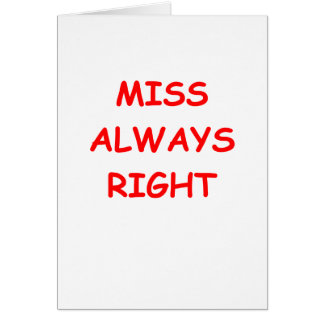 always right card