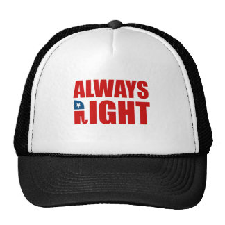 ALWAYS RIGHT MESH HATS