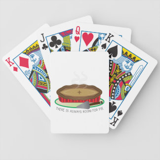 Always Room For Pie Bicycle Playing Cards