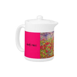 always roses teapot