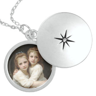 Always Sisters Sterling Silver Necklace