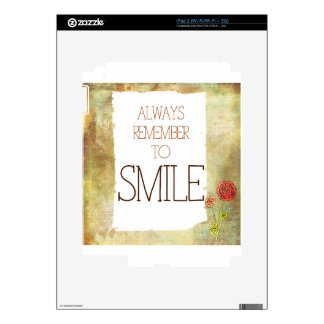 Always Smile Skin For The iPad 2