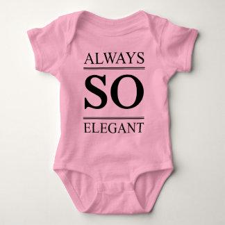 Always so elegant baby bodysuit