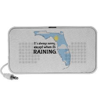 Always Sunny Raining Notebook Speaker