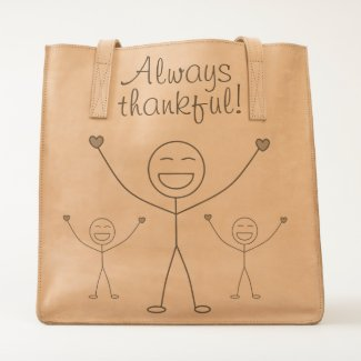 Beautiful Gratitude Print Tote
