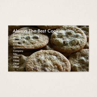 Always The Best Cookies Business Card