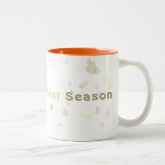 Always the Best Season - Fall Two-Tone Coffee Mug