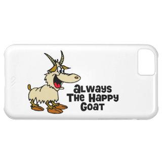 Always The Happy Goat iPhone 5C Cases