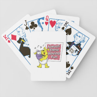 Always There, Playing Cards
