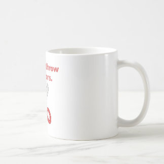 Always Throw Scissors Coffee Mugs