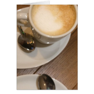 Always Time for a Coffee Latte Card