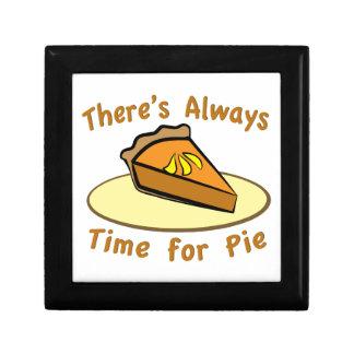 Always Time for Pie Jewelry Box