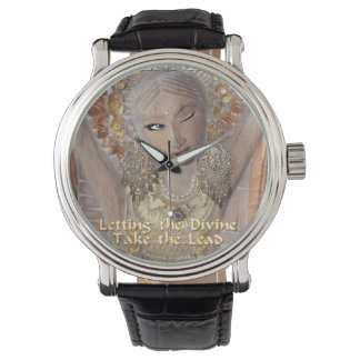 Always Time to Let the Divine Lead Wrist Watch