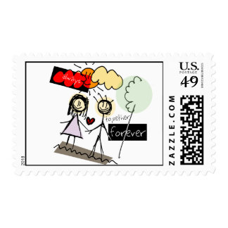 """Always Together Forever"" Fun Art Products Stamp"