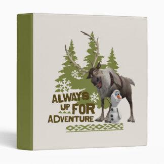Always up for Adventure Binder