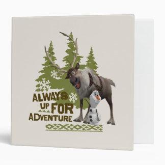 Always up for Adventure Binders