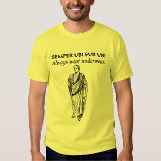 Always wear underwear (Roman Toga) (2) T-Shirt