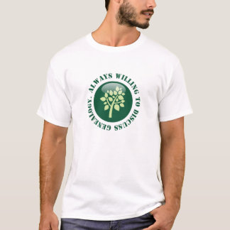 Always Willing To Discuss Genealogy T-Shirt