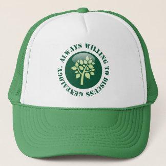Always Willing To Discuss Genealogy Trucker Hat