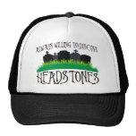 Always Willing To Discuss Headstones Trucker Hat