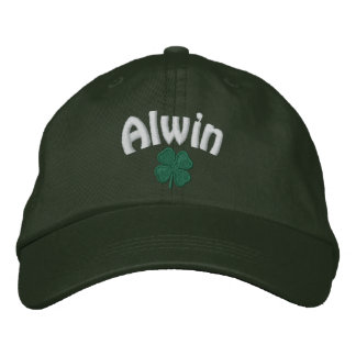 Alwin  - Four Leaf Clover Embroidered Baseball Hat