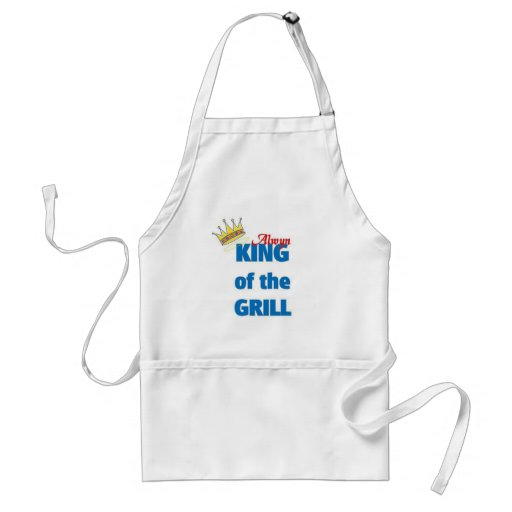 Alwyn king of the grill aprons