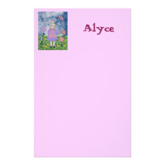 Alyce In A Land of Wonder, Stationery