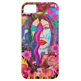 Alyce on Wonderland iPhone SE/5/5s Case