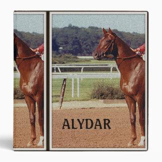 Alydar Belmont Stakes 1978 3 Ring Binder