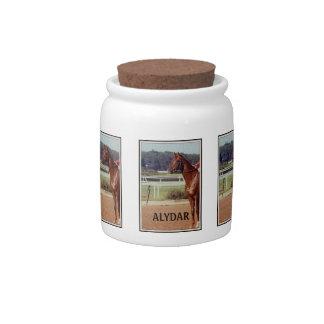 Alydar Belmont Stakes 1978 Candy Jars