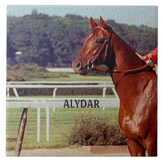 Alydar Belmont Stakes 1978 Ceramic Tiles