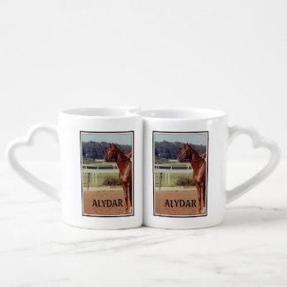 Alydar Belmont Stakes 1978 Couple Mugs